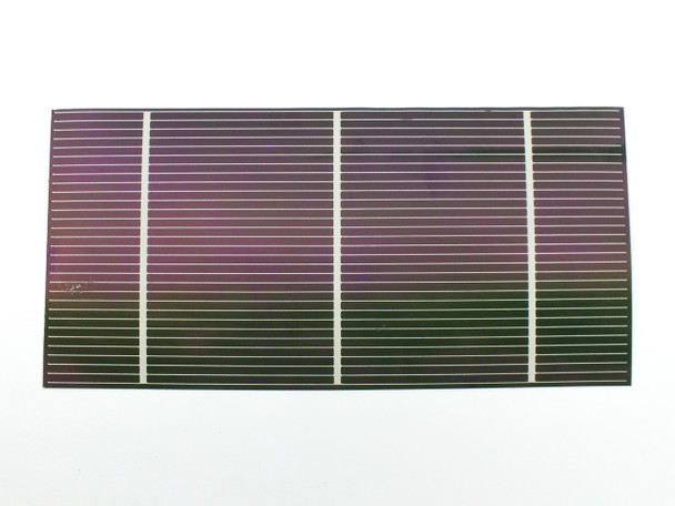 """Solopower 1.25 Watt CIGS Lightweight Thin Flexible Solar Cell 7.5"""" x 3.75"""""""