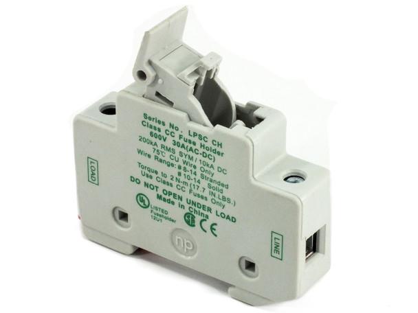 Littelfuse LPSH CH Powr-Safe 600V 30A Class CC Fuse holder