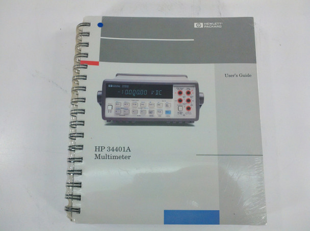 HP 34401-90100 34401A Manual Set User and Service Guide 34001-90004 34001-90013