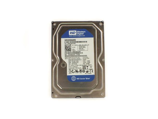 Western Digital WD3200AAKS Caviar Blue 320 GB Hard Drive - SATA 7200 RPM