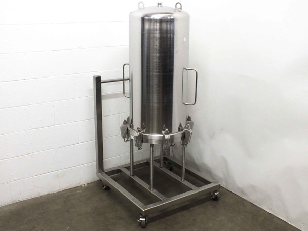 Millistak+ UC64SFTFT 151L Stainless Steel Filter Housing 10bar ISO-63 Ports