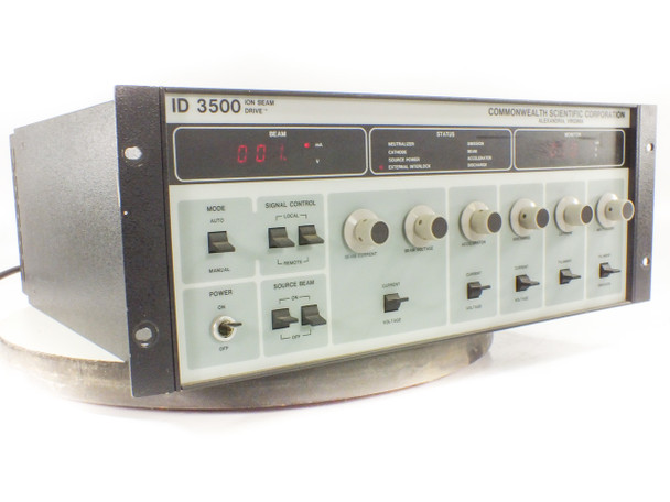 Commonwealth Scientific 3152002 ID-3500 Ion Beam Drive RF Power Supply (AE)