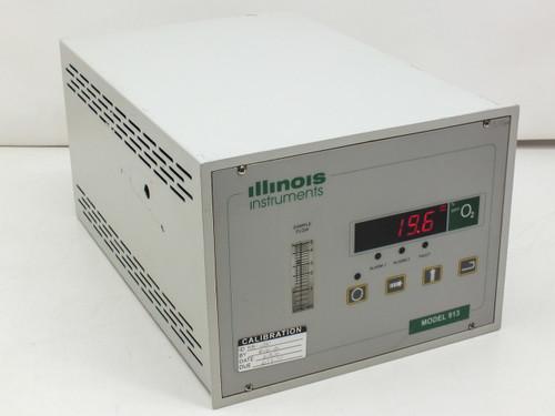 Illinois Instruments 913 O2 Process Oxygen Gas Analyzer 0