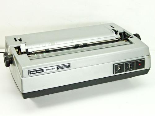 Radio Shack Trs 80 Daisy Wheel Printer Ii With 20 Prestige