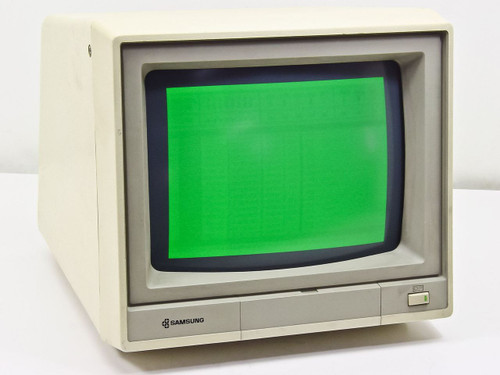 Samsung Md 1254g 12 Quot Monochrome Monitor 9 Pin Green