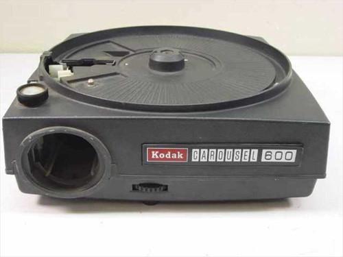 Kodak 600 Carousel Slide Projector Body For Parts Or
