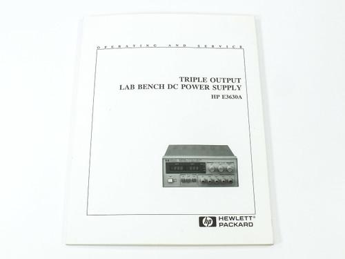 hp e3630a triple output lab bench dc power supply operating rh recycledgoods com HP ProBook Power Supply HP Desktop Power Supply Upgrade