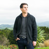 Koru Merino - Possum Zip through Collar Jacket