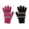 Lothlorian Merino - Possum Accent Stripe Glove