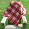 Town & Country 'St George' Wool Tartan Picnic Rug