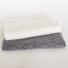 Silver Stream Merino Wool Lace Baby Blanket