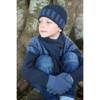 Cosy Kiwi  Childs Merino Wool and Possum Fur Scarf