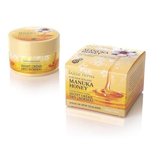 Wild Ferns Manuka Honey Ultra Enriching Night Creme for Dry/Normal Skin