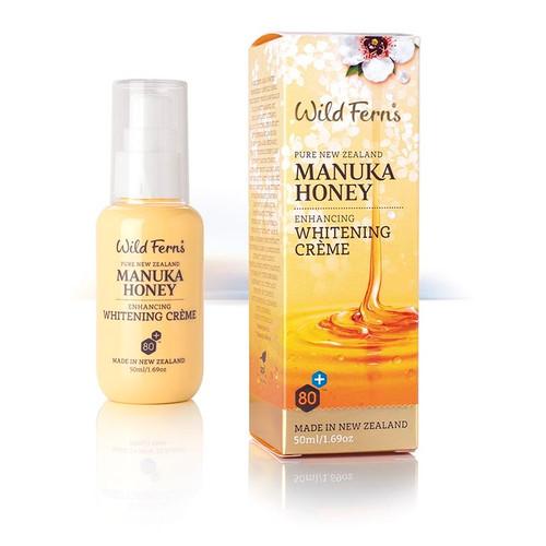 Wild Ferns Manuka Honey Enhancing Whitening Creme 50mls