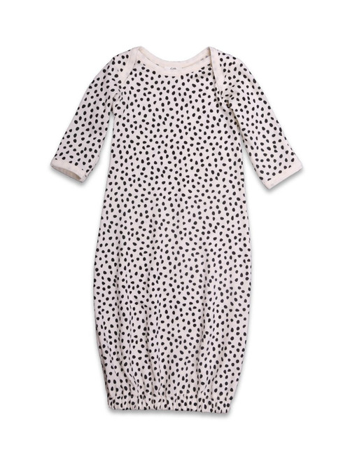 Little Periam - Sleeping Gown : Pebble Print