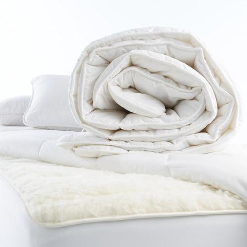 Mi Woolies Wonderwool  King Wool Fill Duvet or Quilt Inner (winter weight)