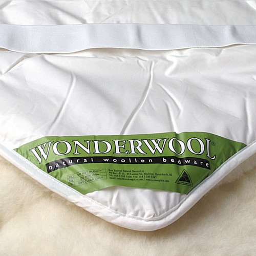 Mi Woolies Wonder Wool lLuxury Reversible Wool Underquilt - Strapped (King Single/Twin)
