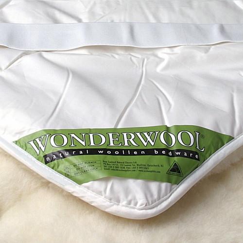 Mi Woolies Wonder Wool Luxury Reversible Wool Underquilt-Strapped (Super King)