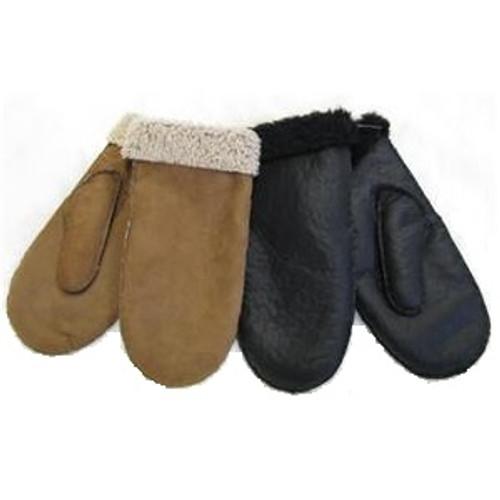 Four Peaks - Lambskin Leather Mittens
