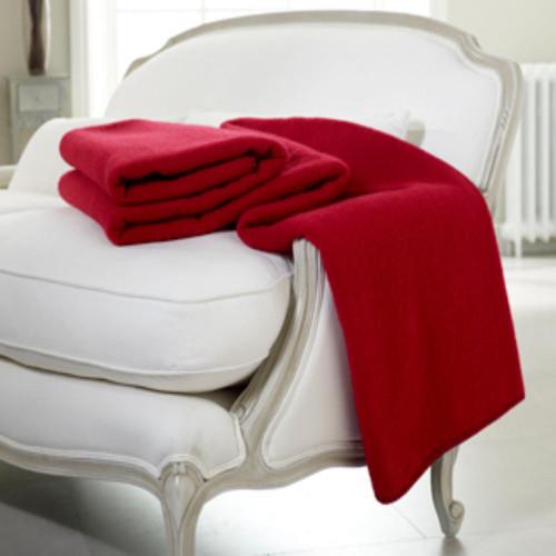 Exquisite Wool Cot Blanket or Throw