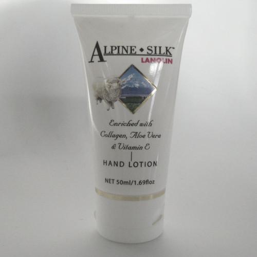 Alpine Silk Lanolin Hand and Body Lotion 50ml