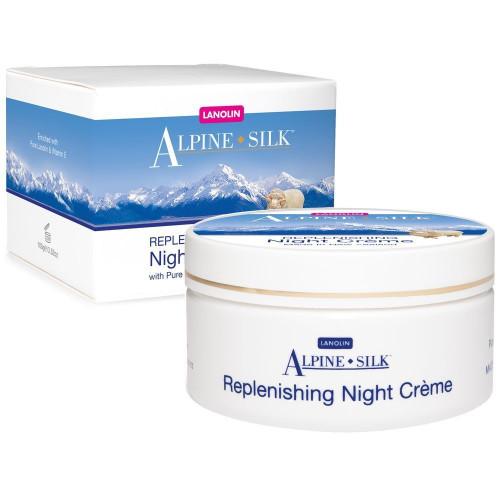Alpine Silk Replenishing Night Creme 100gm