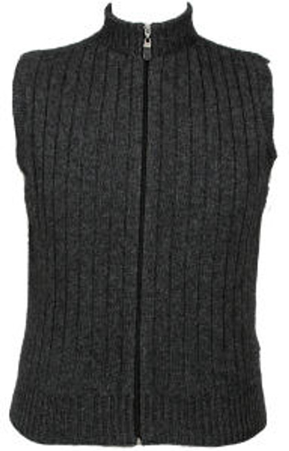 Lothlorian Merino Possum Rib Zip Vest