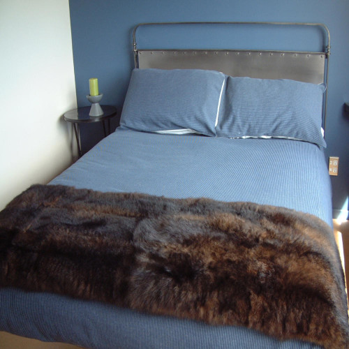 Mooneys - 12 Skin : Possum Fur Throw/Quilt