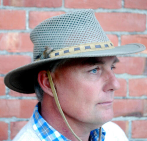 Selke Khaki Canvas Fishermans Hat