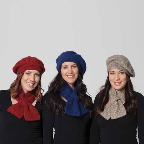 Possumdown Merino - Possum Crochet Neck Warmer Scarf