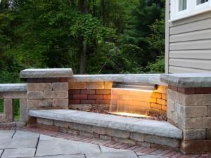 Formal Waterfall Installations