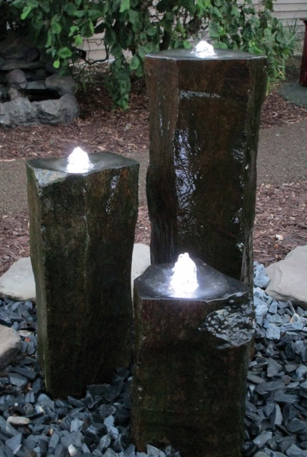 Basalt Rock Column Installation 5