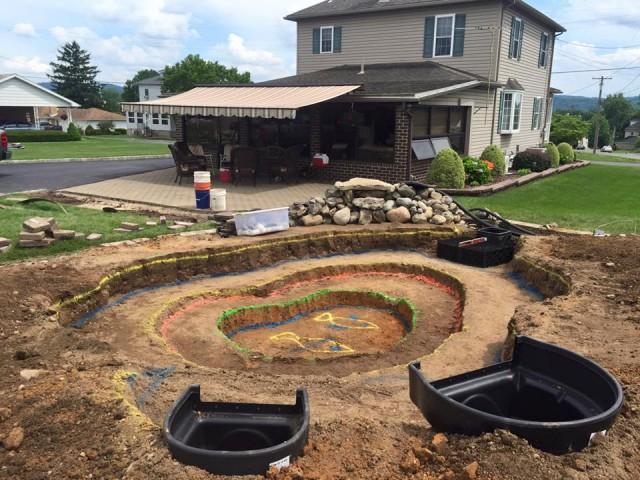 Koi and Pond Garden Installation 5