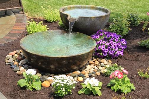 Patio Pond Installation 1