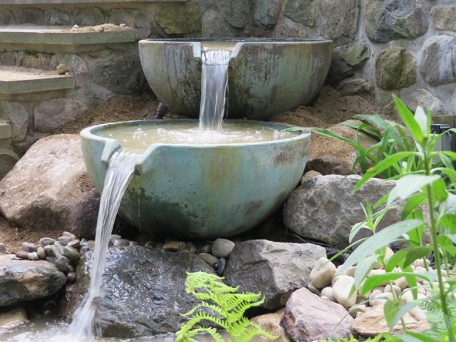Patio Pond Installation 5
