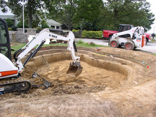Pond Construction 3