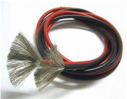 16 AWG Silicone Wire Red/Black 3'