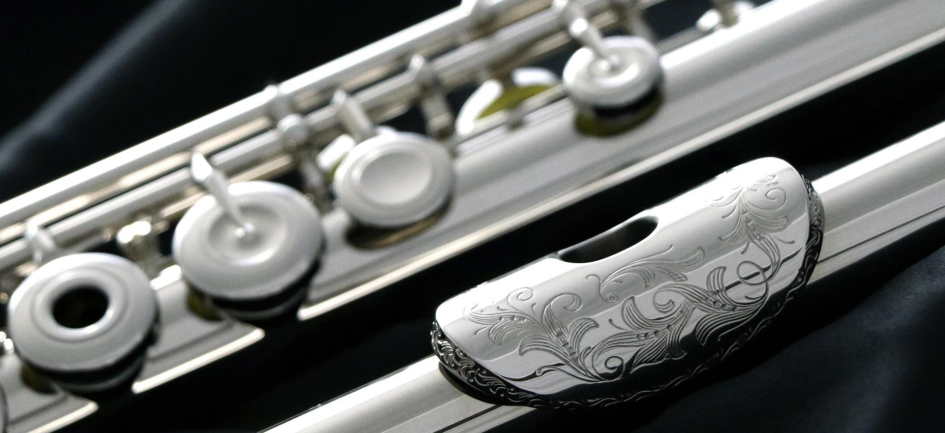 FIND IT. TRY IT. LOVE IT. Flute photo.
