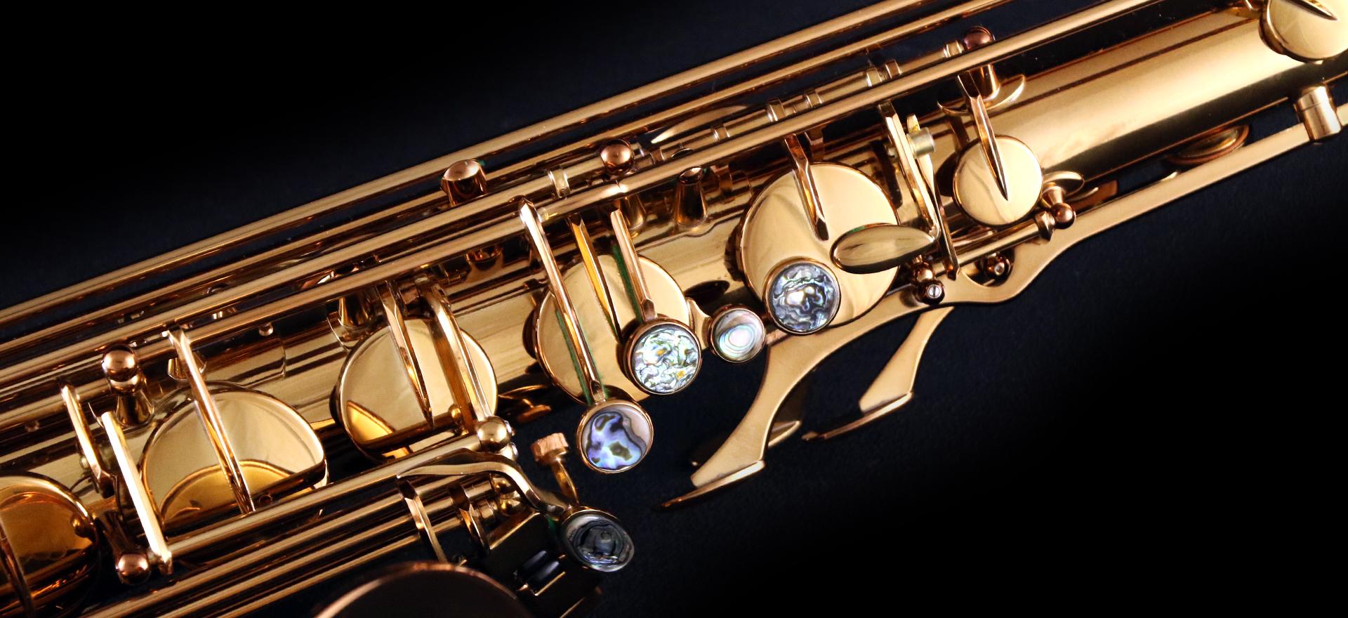 FIND YOUR SOUND. Saxophone photo.
