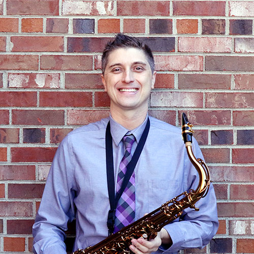 Sax Shop specialist, David Strong