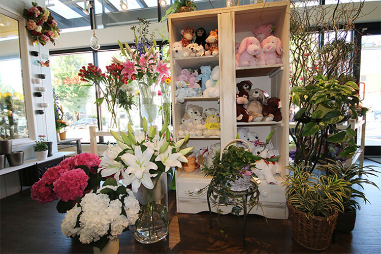 Adele-Rae Florist - Interior shot of our flower shop in Burnaby, BC. Photo credit: yellowpages.ca
