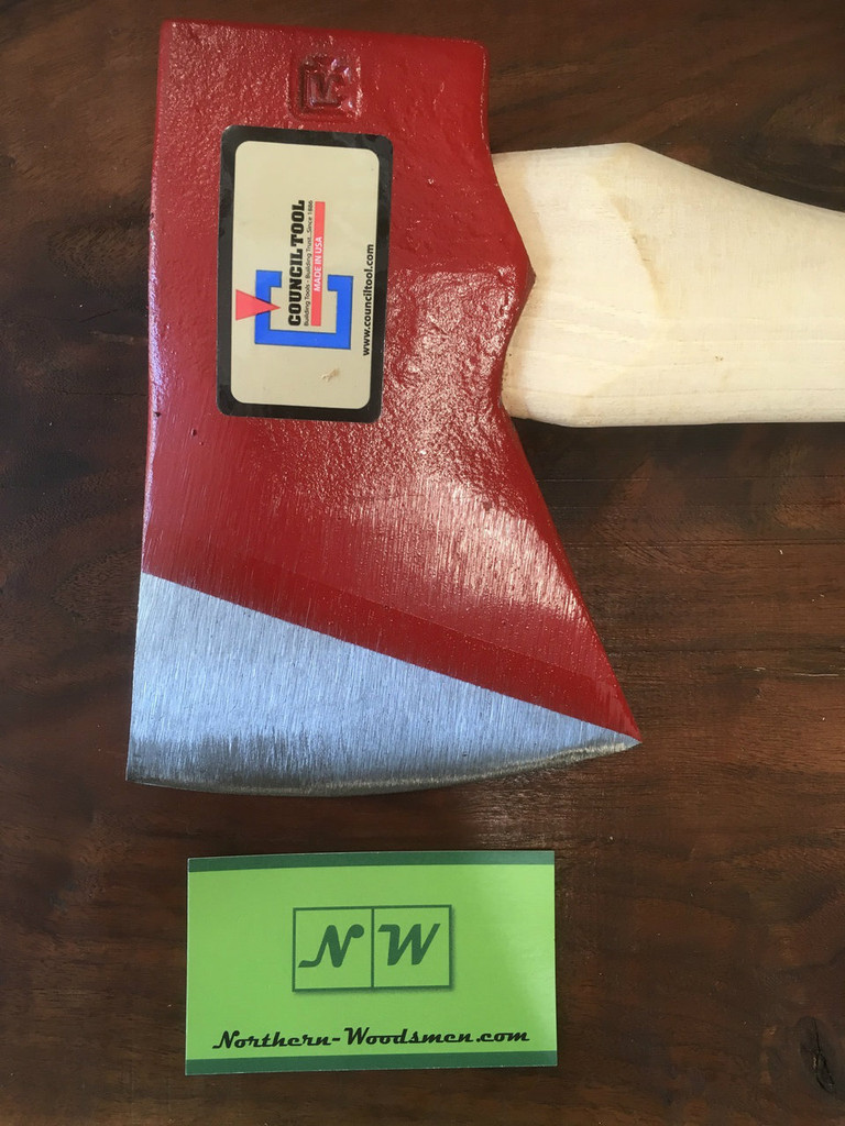 """Council Tool 3.5# Miner's Axe - 26"""" Straight Handle"""