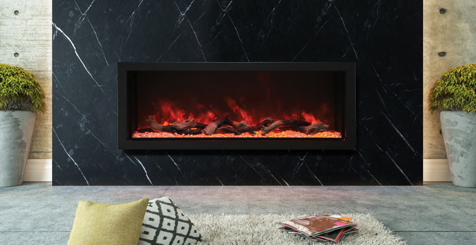 Amantii BI-60-DEEP-XT electric fireplace