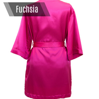 Fuchsia Bikini Competition Robe