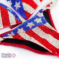 American Flag Competition Bikini