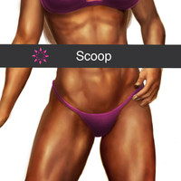 Front Style: Scoop