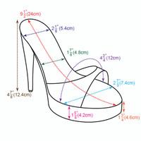 Shoe sizing information