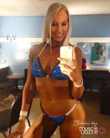 Royal Blue Crystal Bikini