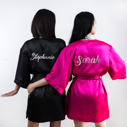 Personalized competition robe