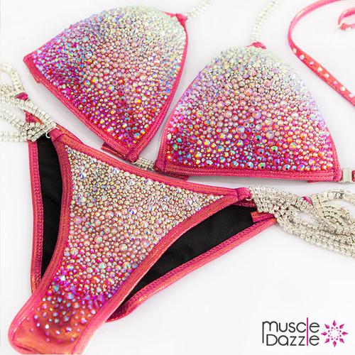 Pink Copper Competition Bikini